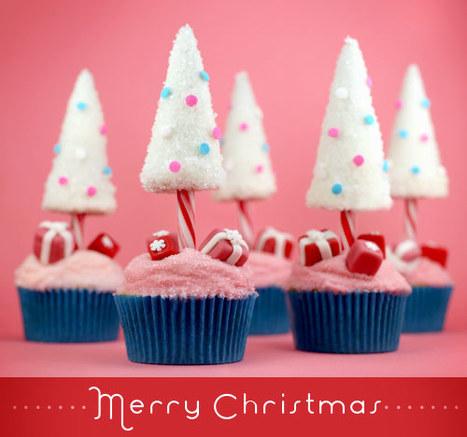Un adorable arbre de Noël sucré façon cupcake ! | FRENCH and much more... | Scoop.it