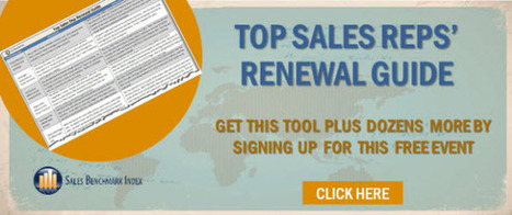 How Top Sales Reps Stay on Top   what you need to know   Scoop.it
