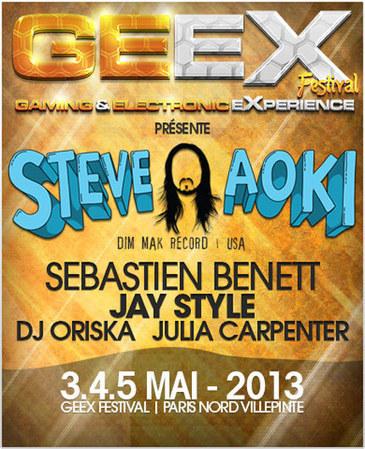 GeeX Festival [3-5/05] @ parc des Expos - Villepinte - Le Coin des Clubbers | GeeX Festival 2013 | Scoop.it