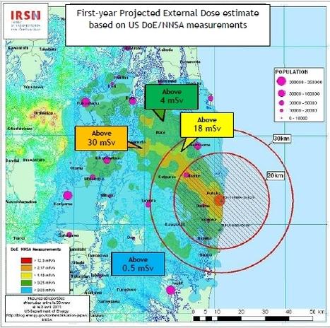 [Eng] Rapport d'évaluation des doses de radioactivité sur la population de Fukushima   IRSN   Japon : séisme, tsunami & conséquences   Scoop.it