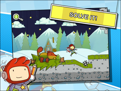 Scribblenauts Remix for iPhone 3GS, iPhone 4, iPhone 4S, iPod touch (3rd generation), iPod touch (4th generation) and iPad on the iTunes App Store | iDevice Tools for Creativity | Scoop.it