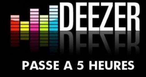 Deezer limite son accès gratuit à 5h/mois | Radio 2.0 (En & Fr) | Scoop.it