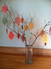 The Kid-Friendly Home: Family Tree of Thanks   Creative Play   Scoop.it