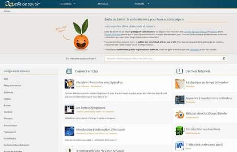 Partage de connaissances en ligne, Zeste de savoir | Veille Informatique, Systèmes et réseaux | Scoop.it