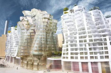 Battersea Flower Station: Guggenheim architect Frank Gehry unveils plans for new £8bn riverside development | Architecture and Architectural Jobs | Scoop.it