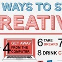 29 ways to stay creative [infographic] via dailyinfographic.com | Craft Business | Scoop.it