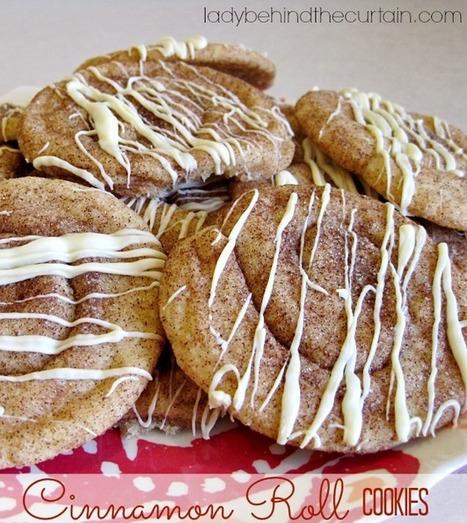 #Recipe / Cinnamon Roll Cookies | sweet cooking | Scoop.it