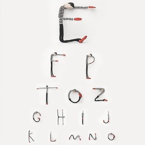 La Pequeña ciudad de P.: Mister Alphabet, el tipo de las letras | Ilustracion | Scoop.it