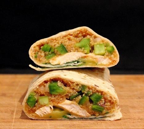 PicNic: Peri Peri Chicken and Quinoa Wraps | Recipes | Scoop.it