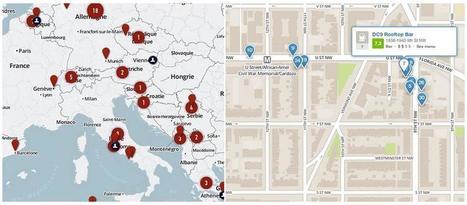 3 herramientas GRATUITAS para crear mapas geográficos interactivos   URBANmedias   Scoop.it