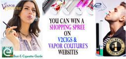 Enter to Win Our V2Cigs Vapor Couture Giveaway | Best-E-Cigarette-Guide | E-Cigarette News | Scoop.it