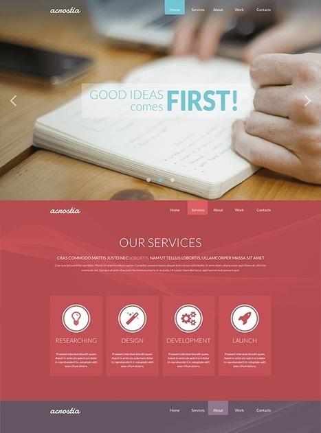 TM Acrostia - Free Onepage Joomla Template | Free & Premium Joomla Templates and WordPress Themes | Scoop.it