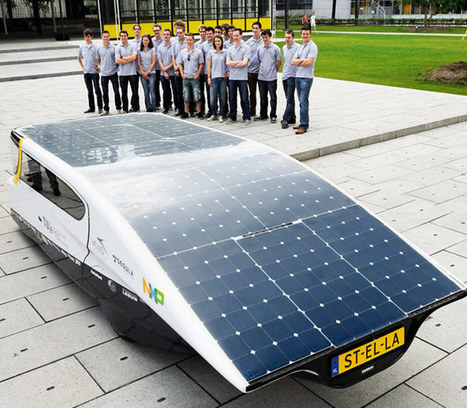 Stella Solar-Powered Family Car Unveiled With 600Km Range (video) | Geeky Gadgets | Scientific and Technological Innovation | Scoop.it