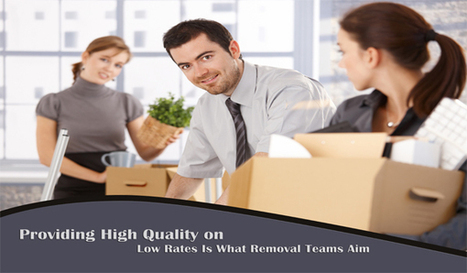 Providing High Quality on Low Rates Is What Removal Teams Aim   tornadoposts.org   Removal Services   Scoop.it