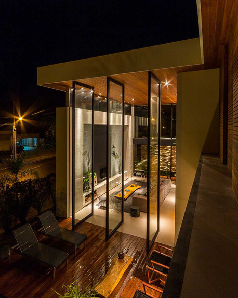 Modern Brazilian Home Taking an Elegant Approach to Design | Breathtaking Architecture | Scoop.it