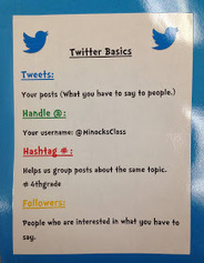 Two Guys and Some iPads: Analog Twitter Wall to Build Relationships and Digital Citizenship   Connect The Thoughts   Scoop.it