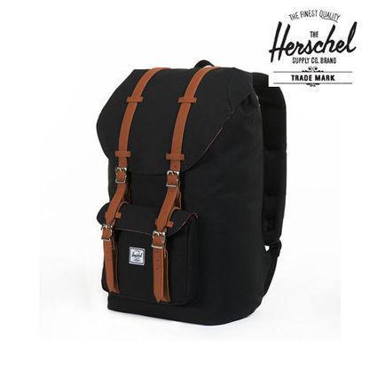 Authentic Herschel Supply Co. Little America Backpack - Black | General Scoops | Scoop.it