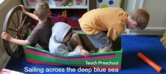 Sailing across the deep blue sea | Teach Preschool | Scoop.it