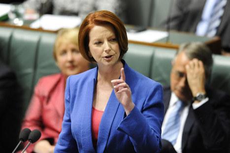 Teens Are Memorising Julia Gillard's Misogyny Speech And Shouting It In The Streets | Women of The Revolution | Scoop.it