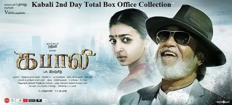 Kabali 2nd Day Total Box Office Collection | Reviews | Scoop.it