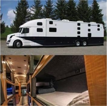Passer la nuit dans l'autobus... dans un vrai lit! - Veilletourisme.ca | Innovation and trends in tourism | Scoop.it