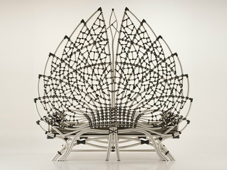Grand Acanthus Rattan Bench by Dolcefarniente | CG+Architecture | Scoop.it