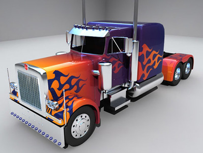 Optimus prime 3D | 3D Library | Scoop.it