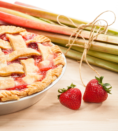 Strawberry Rhubarb Pie and Nona Mac's Southern Pastry, Vegan Style | My Vegan recipes | Scoop.it