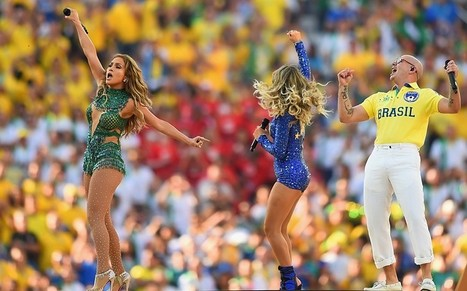 Jennifer Lopez and Pitbull fans complain about sound quality at World Cup Opening Ceremony  - Telegraph | World Cup Opening Ceremony sound marred by 'technical issue' | Scoop.it
