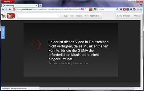 ProxTube: Pour enlever la censure des Vidéos YouTube | Time to Learn | Scoop.it