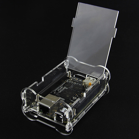 Acrylic Case Box for BeagleBone Black - Transparent | Raspberry Pi | Scoop.it