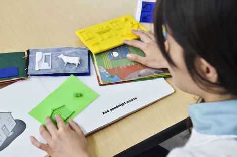 3D-Printed Tactile Picture Books | 3D Virtual-Real Worlds: Ed Tech | Scoop.it