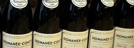 3,8 millions d'euros pour s'offrir des vins de la Romanée-Conti | Vos Clés de la Cave | Scoop.it