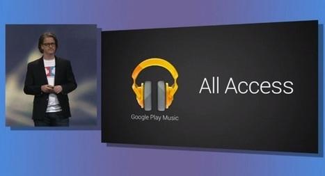 Le service de streaming musical de Google arrive enfin en France | Geeks | Scoop.it