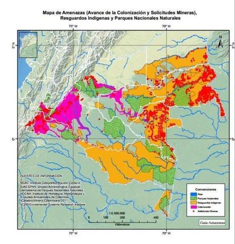 La reserva minera en la Amazonia que el Ministro de Ambiente aprobó sin estudiar | La Silla Vacía - Noticias, historias, debate, blogs y multimedia sobre el poder en Colombia | Agua | Scoop.it