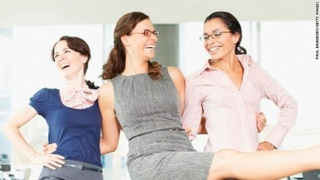☎ Interesting Opinion: Cheerfulness may hold back female leaders | Create Your Dream | Scoop.it