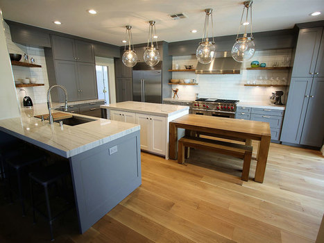 RANCHO SANTA MARGARITA – GRAY U-SHAPED INDUSTRIAL STYLE DESIGN BUILD KITCHEN REMODEL WITH APLUS CUSTOM CABINETS | kitchen remodeling orange county | Scoop.it