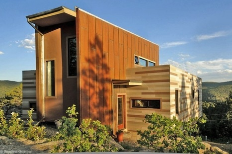 Solar Shipping Container House in Colorado | Sustainable Futures | Scoop.it