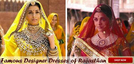 Famous Designer Dresses of Rajasthan | Anarkali Suits | Scoop.it
