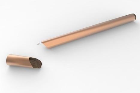 Ce stylo français transmet en temps réel votre écriture à votre smartphone #IoT #IdO | Connected Things | Scoop.it