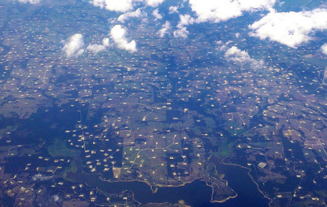 Bird's eye view of Texas fracking causes rumble -The Common Sense Canadian | Wind turbines | Scoop.it