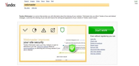 How to Submit Your Site to Yandex Webmaster Tools - Pro Blog Tricks | Social Media | Scoop.it