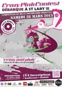 CRAZY PINK CONTEST le 28 mars 2015 à Saint-Lary !   Actualités   Station de ski Saint-Lary   SAINT LARY   Scoop.it