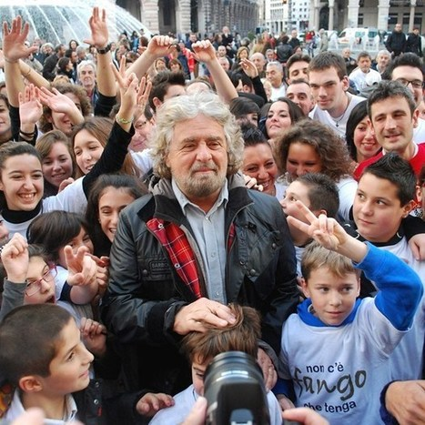 Comedian Beppe Grillo turns blog into Italy's third-largest political movement (Wired UK)   The New Global Open Public Sphere   Scoop.it