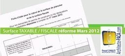 Surface taxable et surface de plancher : quelle différence ? | IMMOBILIER 2014 | Scoop.it