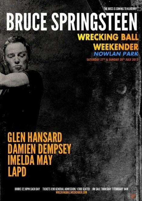 A Kilkenny, Bruce Springsteen reprend son album « Born In The USA » et deux classiques soul - le Blog Bruce Springsteen | Bruce Springsteen | Scoop.it