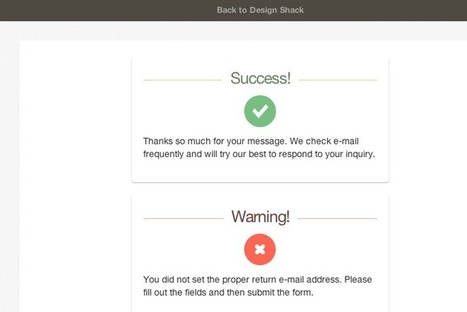 Building CSS3 Notification Boxes With Fade Animations | Web Development | Scoop.it