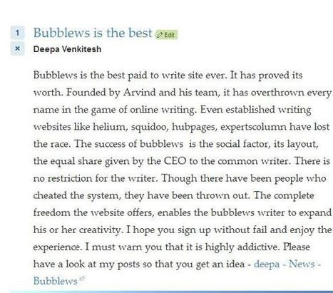 Quora - a reddit like site - News - Bubblews | Articles that should not be missed | Scoop.it
