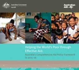 Effectiveness reforms in the 2012 aid budget   Development Policy Blog   International aid trends from a Belgian perspective   Scoop.it