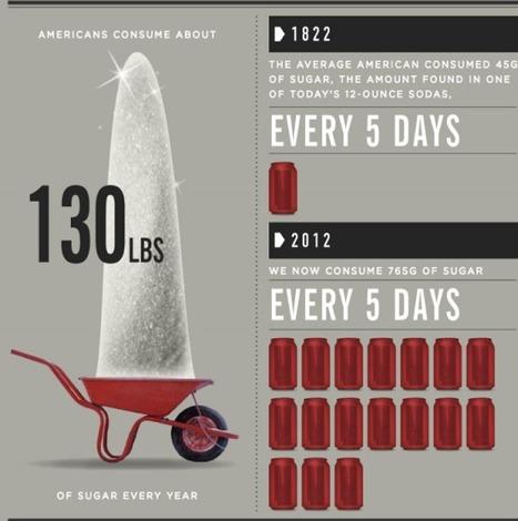 Infographic: America's Addiction to Sugar - Just as Addictive as Cocaine | Drugs, Society, Human Rights & Justice | Scoop.it